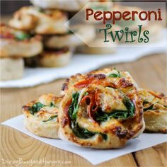 pepperoni twirls