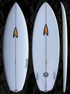 Roberts Surfboards White Diamond 2. The next generation model of the famous Original White Diamond model.