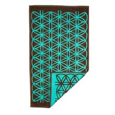 Bathroom Hand Towel with Flower of Life in Turquoi. Bathroom Hand Towel with Flower of Life in Turquoise and Brown Decorated Towels Bath Accessories Yoga gift Brown Bath Towels, Best Bath Towels, Hand Towels Bathroom, Bathroom Art, Bathrooms, Brown Bathroom, Mandala Towel, Flower Of Life Pattern, Meditation Cushion