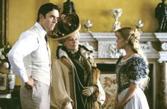 Rupert Everett, Judi Dench and Reese Witherspoon in 'The Importance of Being Earnest' (2002). The film is set in 1890s England.