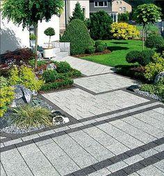 vorgartengestaltung mit gr sern buxkugeln und kalksteinfelsen garten pinterest. Black Bedroom Furniture Sets. Home Design Ideas