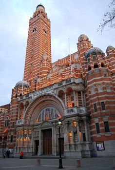 Westminster Cathedral, not to be confused with Westminster Abbey.