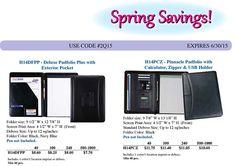 Deluxe Padfolio Sale, Low Prices, Low Minimums