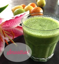 meal planning monday – green smoothies for breakfast
