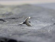 Moon helix hoop earring Helix earring Cartilage by HapaGirls, $18.00