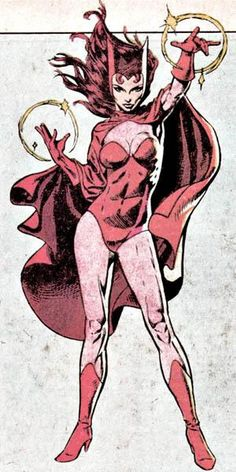 The Scarlet Witch (Wanda Maximoff) Marvel Avengers, Marvel Comics Art, Bd Comics, Marvel Girls, Comics Girls, Marvel Heroes, Captain Marvel, Uncanny Avengers, Marvel Women