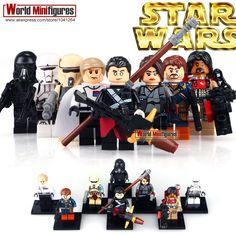 New Genuine LEGO Chirrut Imwe Minifig Star Wars Rogue One 70903