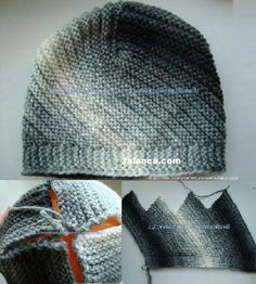 No pattern but a great new way to make a hat!