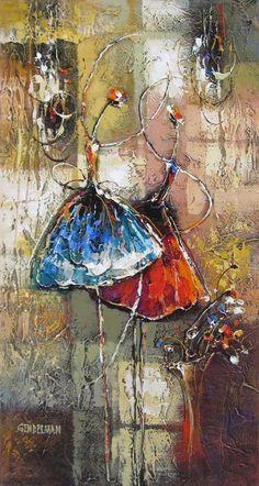 .........  IRENE GENDELMAN ...........   born in Crimea, Ukraine ..............    .resides in Israel......Acrylic