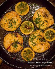 Merlucius la tigaie cu lamaie si ardei iute. #bucatarialuiradu Unt, Palak Paneer, Happy Life, Seafood, Ethnic Recipes, The Happy Life, Sea Food, Seafood Dishes