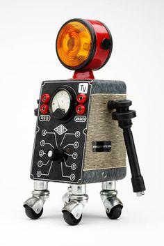 Pitarque Robots art toy-23