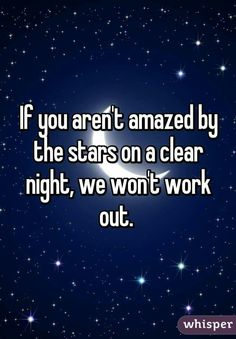 true that! I love the stars... ❤❤❤
