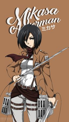 Mikasa Ackerman V2 ~ Korigengi | Wallpaper Anime