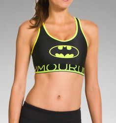 Women's Under Armour® Alter Ego HeatGear® Alpha Batgirl Sports Bra