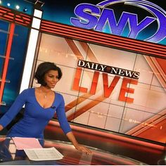 Play By Play: 13 Black Women Sportscasters We Love News Media, Simply Beautiful, Pretty Face, Black Women, Take That, Actresses, This Or That Questions, Female, Celebrities