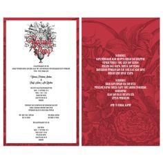 Konsep Undangan Pernikahan Indonesia – Jos Wedding Invitation
