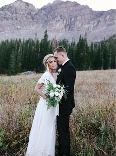 Oh to get married in the mountains...
