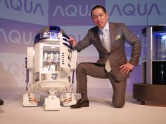 Full-Size 'Star Wars' Remote-Controlled R2-D2 Mini Fridge Capable of Bringing Beverages to You