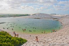 Lagoa dos Peixes - Lençóis Maranhenses - Maranhão - Brasil