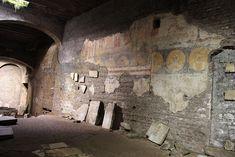 Ancient Basilica and Roman houses in underground S. Crisogono church in Trastevere (4th century) http://www.romeandart.eu/it/roma-eventi.html