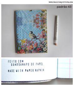 caderno A5 | notebook A5  padrao_43  http://danielapereira.com/