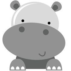 Hippo SVG scrapbook file hippo svg file hippo svg cuts hippo cut file for scrapbooking free svg files