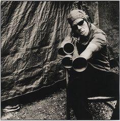 Tom Waits, by Anton Corbijn
