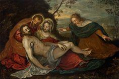 Piedad - Tintoretto - 1555-1559 - Manierismo - Óleo sobre lienzo