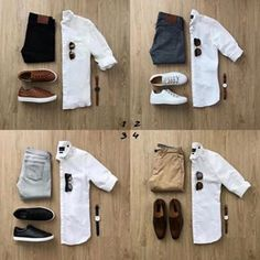 visit our website for the latest men's fashion trends products and tips . Mens Casual Dress Outfits, Stylish Mens Outfits, Men Dress, Men's Outfits, Dress Shirt, Business Casual Men, Men Casual, Casual Chic, Men With Street Style