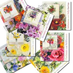a year in flowers cards wholesale greetings cards uk - Wholesale Greeting Cards