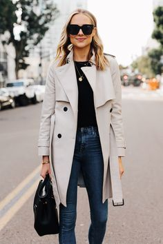 Beautiful outfit idea to copy ♥ For more inspiration join our group Amazing Things ♥ You might also like these related products: - Jeans ->. Trench Coats, Trench Coat Outfit, Women's Coats, Beautiful Outfits, Cool Outfits, Casual Outfits, Fashion Outfits, Womens Fashion, Girly Outfits