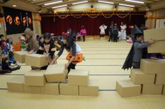 they had to build a pyramid. chained together Bible School Games, Vacation Bible School, Egypt Games, Amazing Race Party, Egyptian Party, Outdoor Party Games, Prince Of Egypt, Holiday Program, World Thinking Day