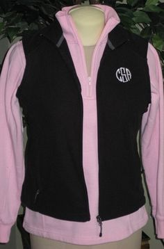 Monogrammed fleece $55.99-- Have to get this one for the fall :) (Marley Lilly)