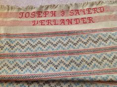"""""""Hither and Tither"""" - The How to Book of Swedish Weaving and Huck Embroidery"""