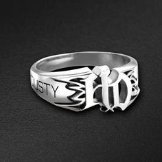 Harley-Davidson® Custom Jewelry Collection - Flame Ring