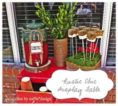 Hostess with the Mostess® - Camping Party