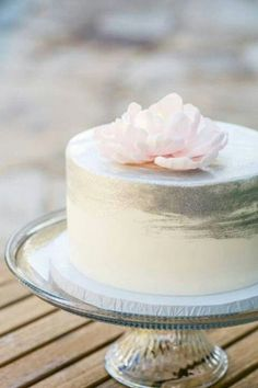 shade of grey spring wedding cakes/ rustic chic spring wedding cakes