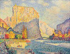 Paul Signac - Castellane (79,0 x 61,0 cm)