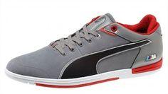 a3aa24d616c Tênis Puma Men s BMW M Pilot Lo Men s Shoes Steel gray black  Tênis  Puma  Men s
