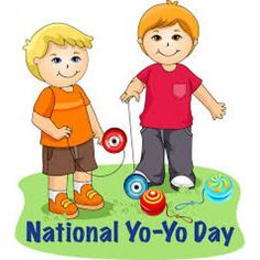 National Yo-Yo Day - June 6