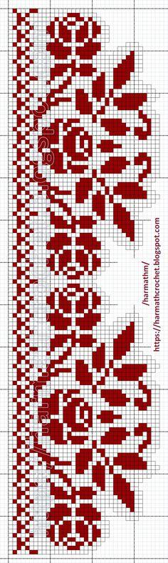 Filet Crochet, Crochet Lace, Crochet Stitches, Cat Cross Stitches, Cross Stitch Charts, Cross Stitch Patterns, Bead Loom Patterns, Crochet Patterns, Nikon Camera Tips