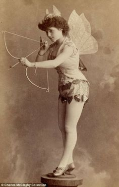 vintage burlesque | vintage everyday: Vintage Burlesque Photos From The 1890s