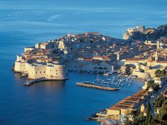 Europe's 20 Most Beautiful Cities: Dubrovnik, one of Europe's most beautiful and majestic walled cities, has skyrocketed to the top of the list of stylish European destination. Most Beautiful Cities, Wonderful Places, Great Places, Amazing Places, Oh The Places You'll Go, Places To Visit, Croatian Islands, European Destination, To Infinity And Beyond