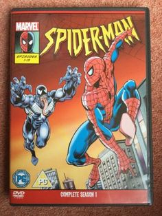 Spider-man the #animated #series #season 1 (2 dvd set) marvel 1995,  View more on the LINK: http://www.zeppy.io/product/gb/2/222211437117/