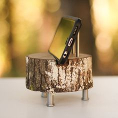 Boss Gift Tech Gift Charging Dock Iphone 7 Iphone by WoodlandFever