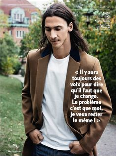 Zlatan with free-flowing hair Helena Seger, Lady And Gentlemen, Dream Guy, Photo Editor, Manchester, Gentleman, Bring It On, Soccer, Photoshop