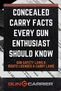 These concealed carry facts aim to promote discipline and responsibility among gun owners. Know the truth about the effect of gun laws in America. Concealed Carry Laws, Ruger Lcp, Habits Of Successful People, Kydex Holster, Pew Pew, Guns And Ammo, Self Defense, Survival Tips