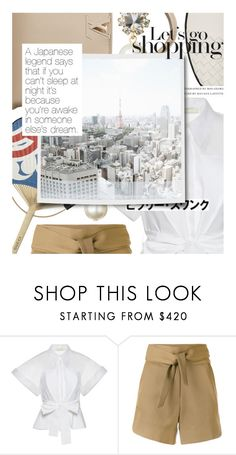 """""""City Style: Tokyo"""" by cultofsharon ❤ liked on Polyvore featuring Delpozo, IRO and modern"""