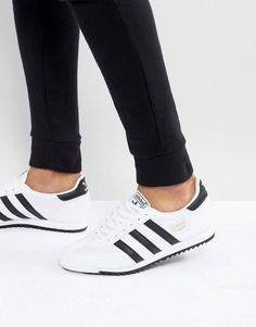 adidas Originals Dragon OG Sneakers In White - White