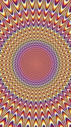 Illusion Ringtones and Wallpapers - Free by ZEDGE™ Color Optical Illusions, Optical Illusions Pictures, Illusion Pictures, Ps Wallpaper, Trippy Wallpaper, Wallpaper Backgrounds, Cellphone Wallpaper, Illusion Kunst, Illusion Art